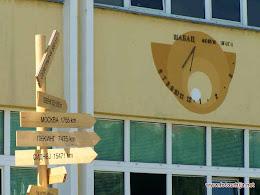 Sunčani sat u Šapcu