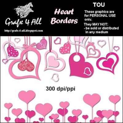 clip art heart borders. clip art heart borders. heart