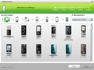 Sony Ericsson Update Service 2.9.12.24 Actualiza el software