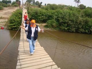 Puente Colgante Zaña