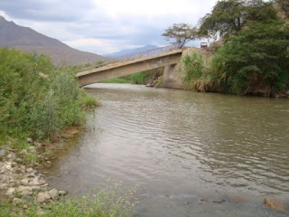 Puente Las Delicias colapsado