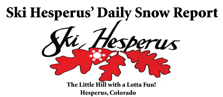 Ski Hesperus Daily Snow Report