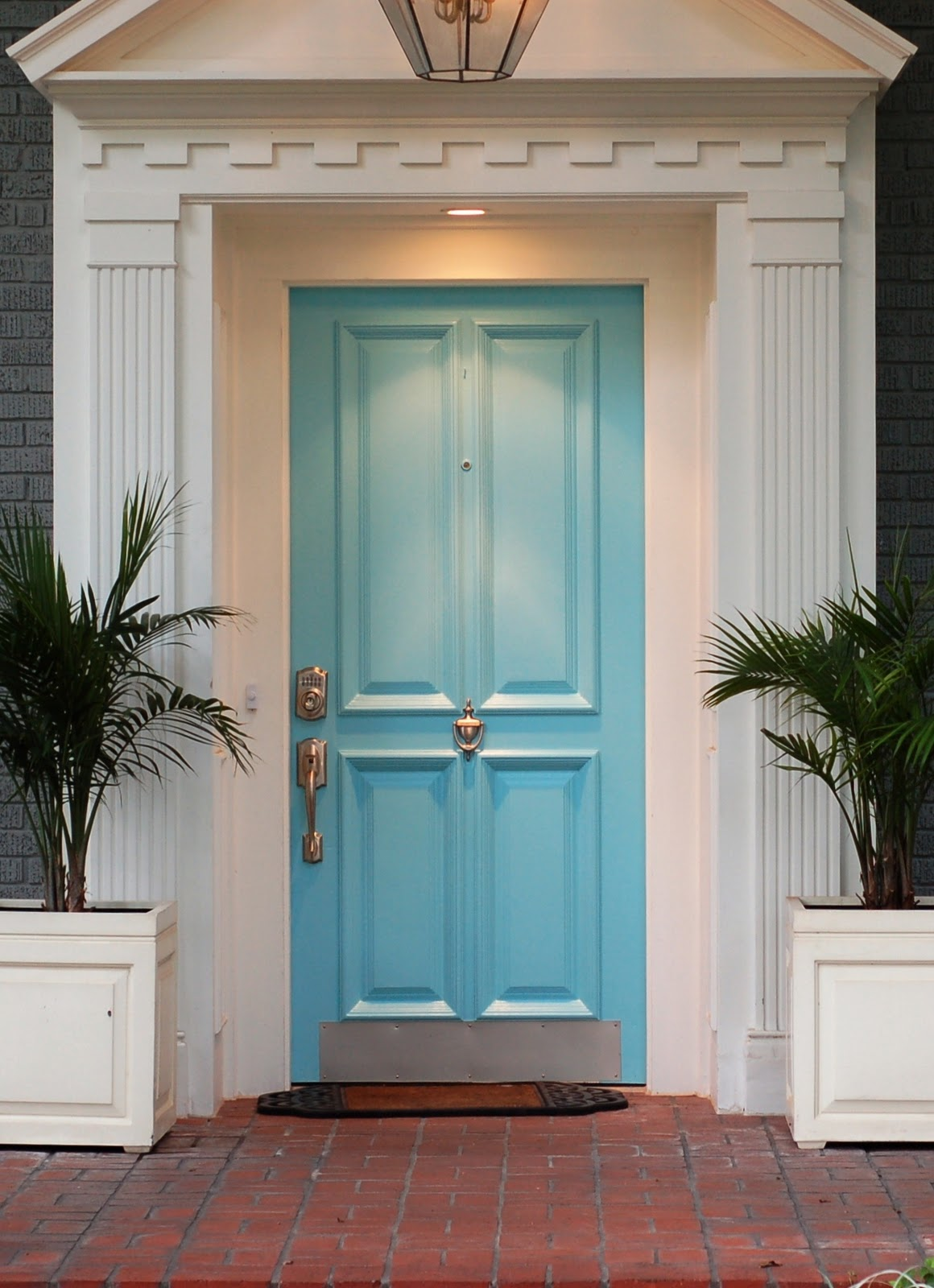 North dallas real estate front door colors to help sell for Small house front door ideas