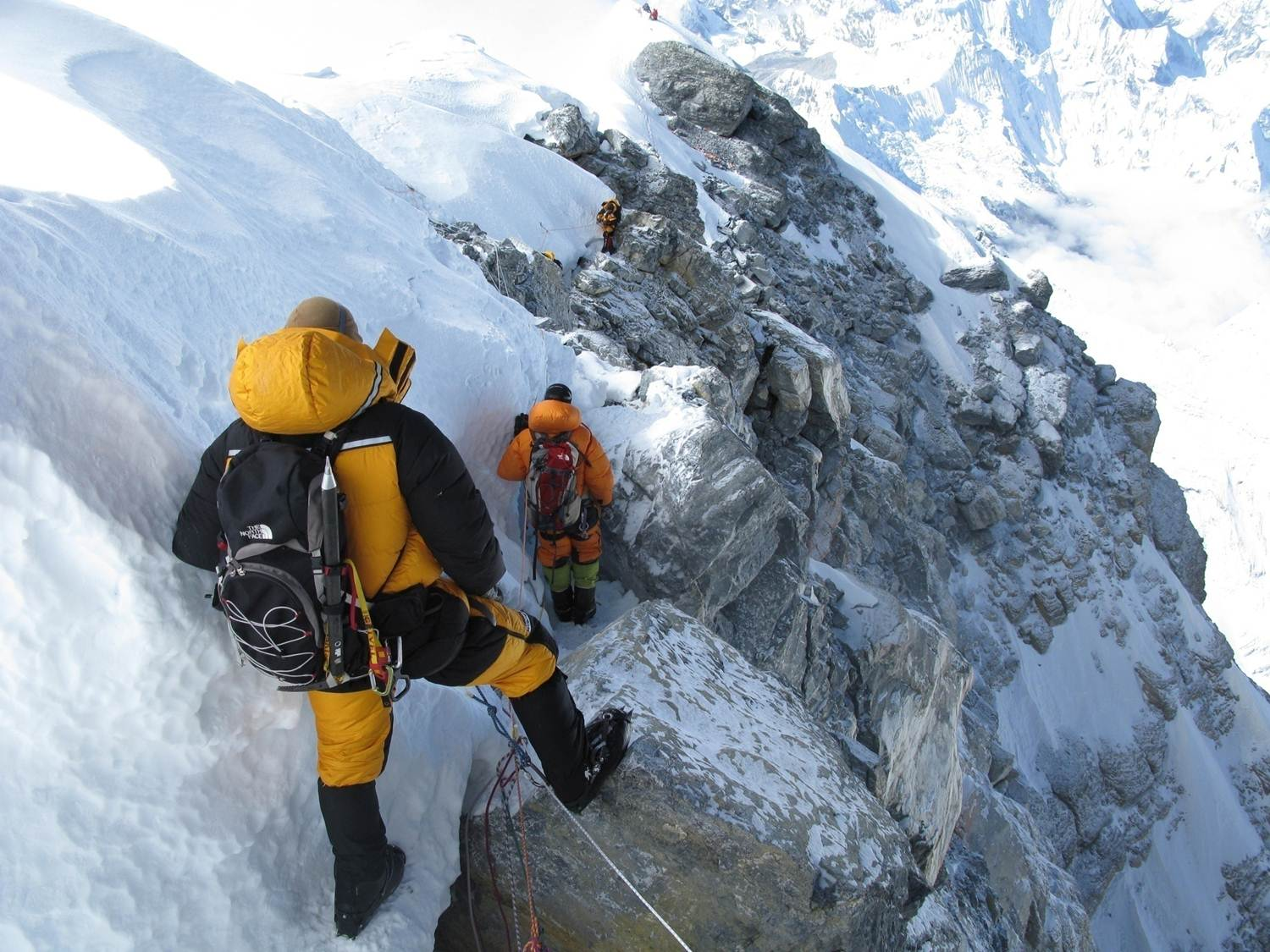 Land Target: Mount Everest Summit, South Col Route 21 May 2008