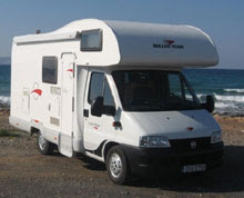 Camper Rental Greece