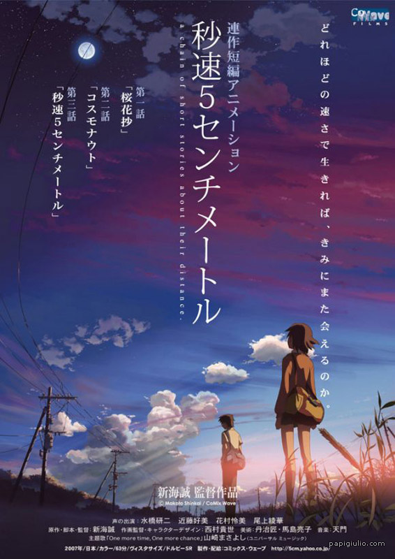 5 Centimeters Per Second - 2007 ...