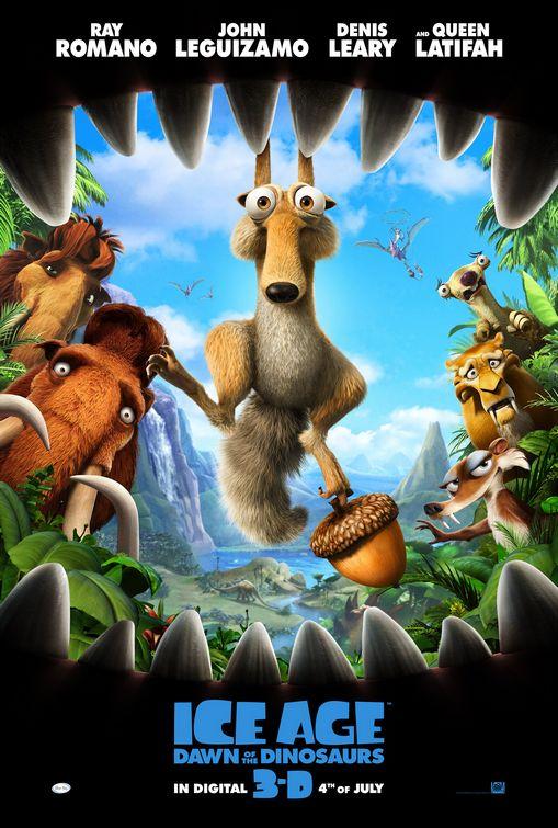Vagebond's Movie Scree... Ice Age 5 The Revenge Of Red Horn Momma Dino