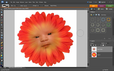 Flower Child Photoshop Tutorial