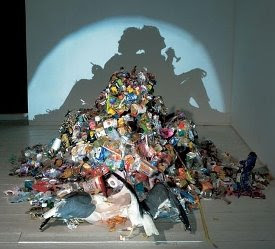 Shadow Trash Art