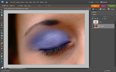 Eyeshadow Photoshop Tutorial