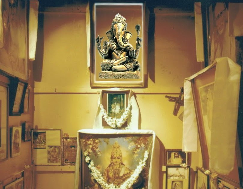 HINDU RITUALS AND ROUTINES Puja Room