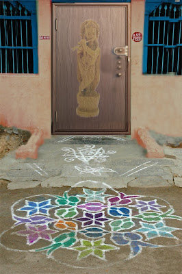 Hindu Rituals And Routines Rangoli