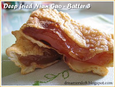 how to make nian gao batter
