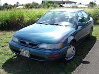 Maui Rental Car - Toyota Corolla Four-Door Sedan