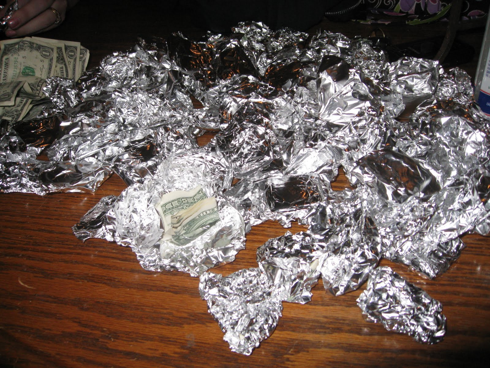 Bonz blogz: foil as a gift?