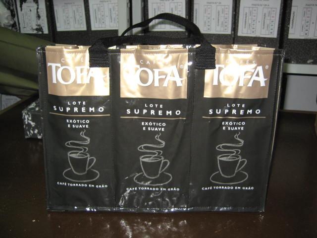 mala de sacos de café