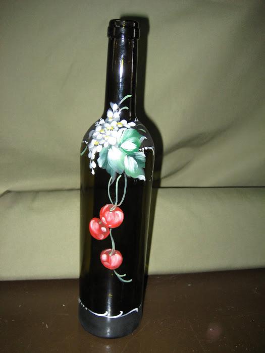 garrafa para licor de ginja