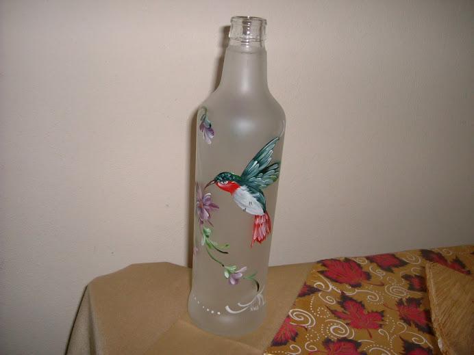 garrafa pintada da Paula