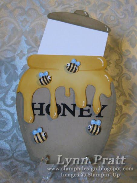 stamp-n-design  honey pot