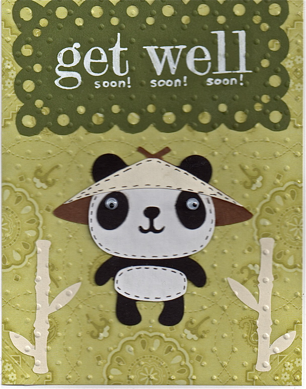 funky cards get well soon