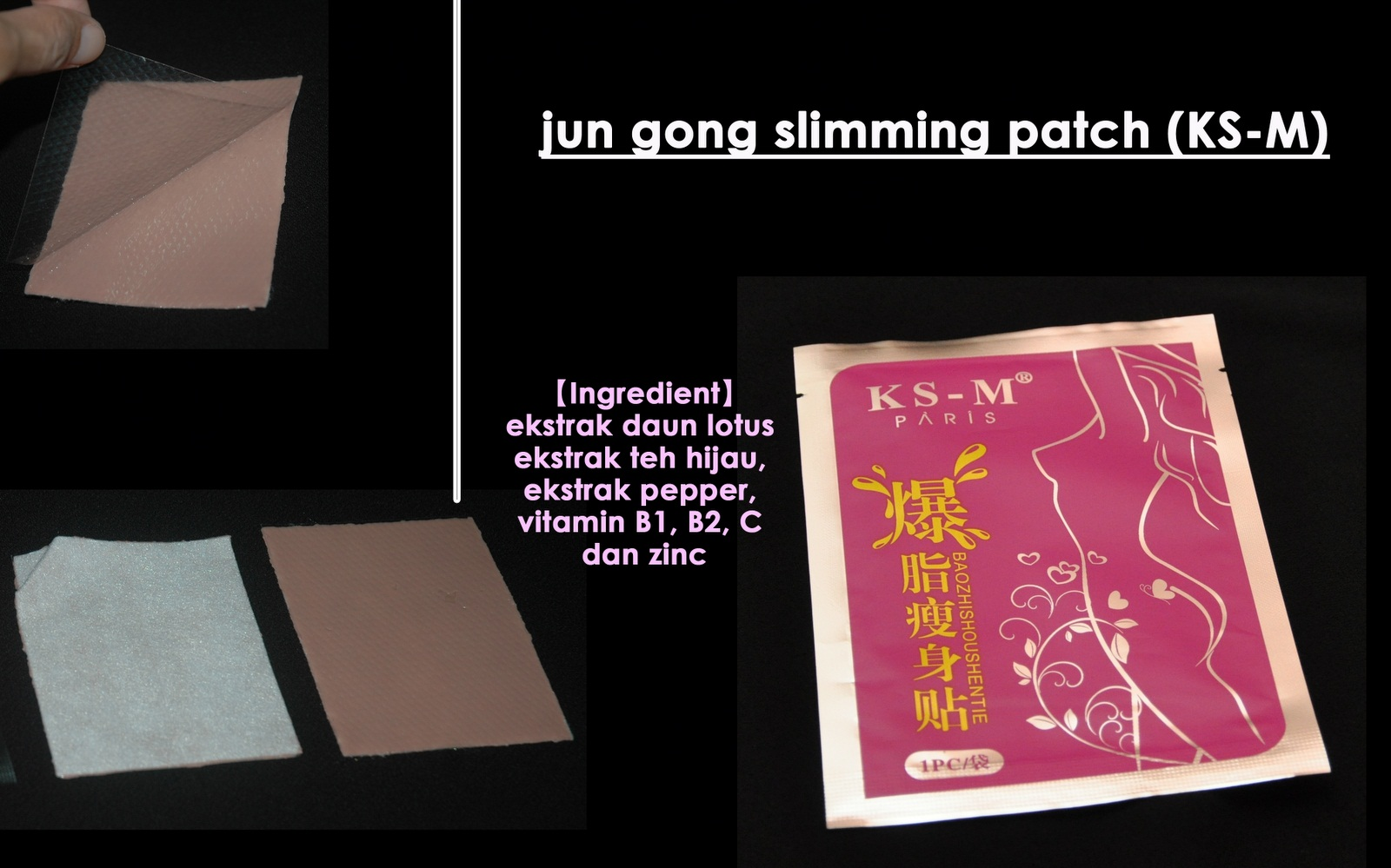 Jun gong slimming patch murahimu