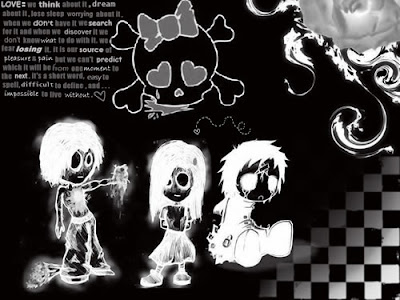 emo boys cartoon wallpaper. emo boys cartoon wallpaper.