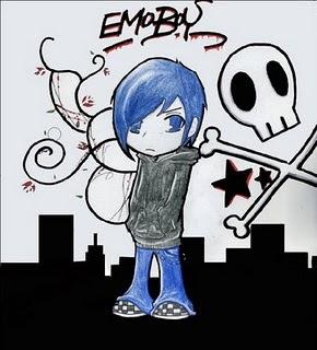 emo punk boy