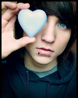 Green eyes / Cute Emo Boys - Emo Bucket - Polyvore