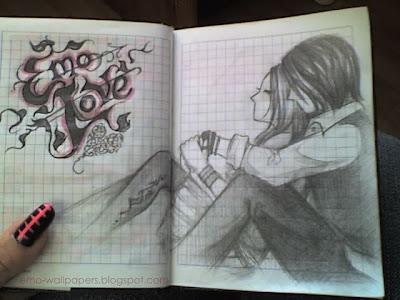 emo drawing