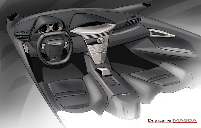 midsize sedan interior design