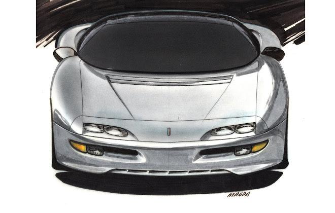 1997 camaro concept sketch