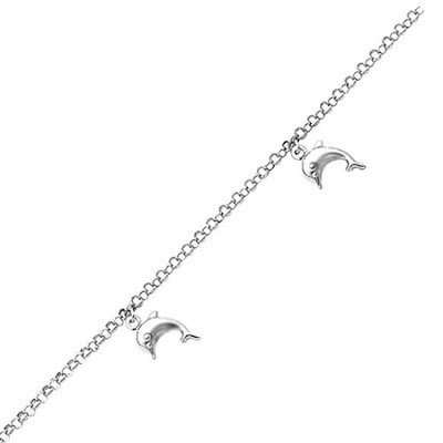 white gold dolphin anklet - Polling 4 lyf style n fashion Comp june 201o:)