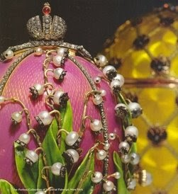 Things to ponder sunday art review faberg easter eggs - Russian easter eggs history ...
