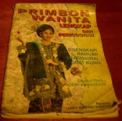The book Buku primbon for woman