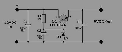 Car circuit Regulator Converter Wiring Diagram
