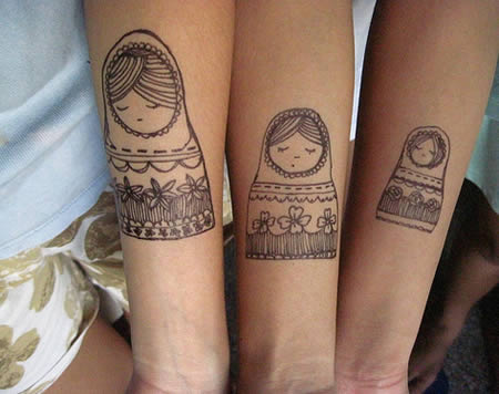 Coolest Matching Tattoos