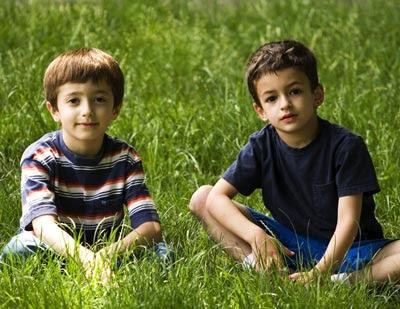 niños de 6 años