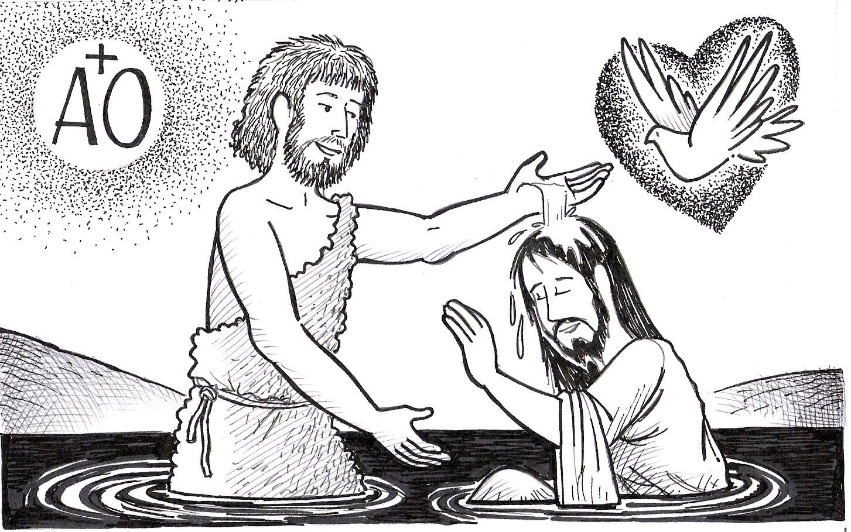 Familia Católica: Ideas para celebrar el Bautismo de Jesús en familia