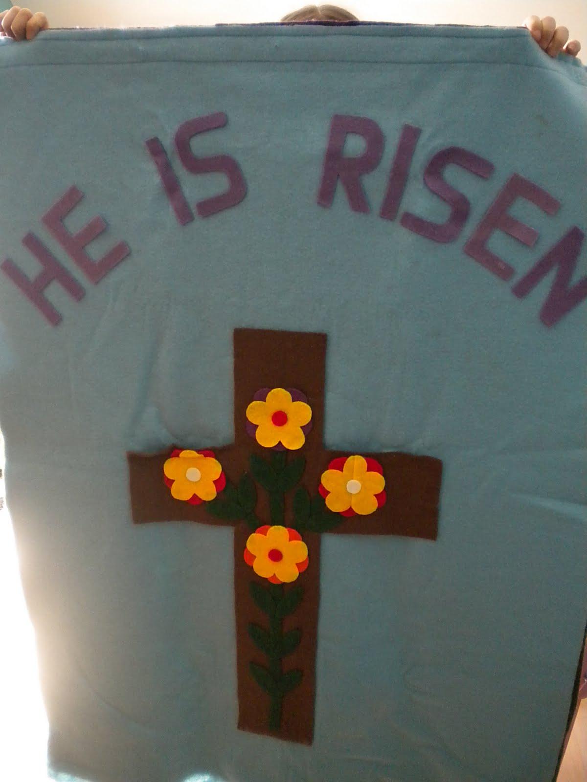 Familia Católica: Banderas de Pascua
