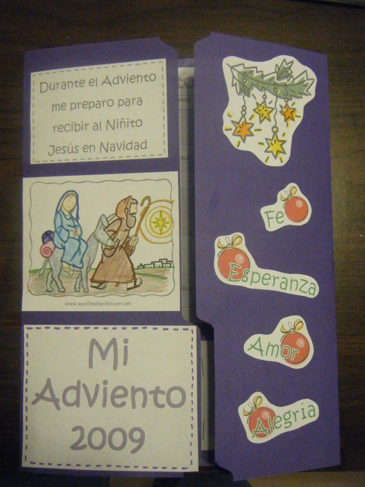 Familia Católica: Lapbook de Adviento