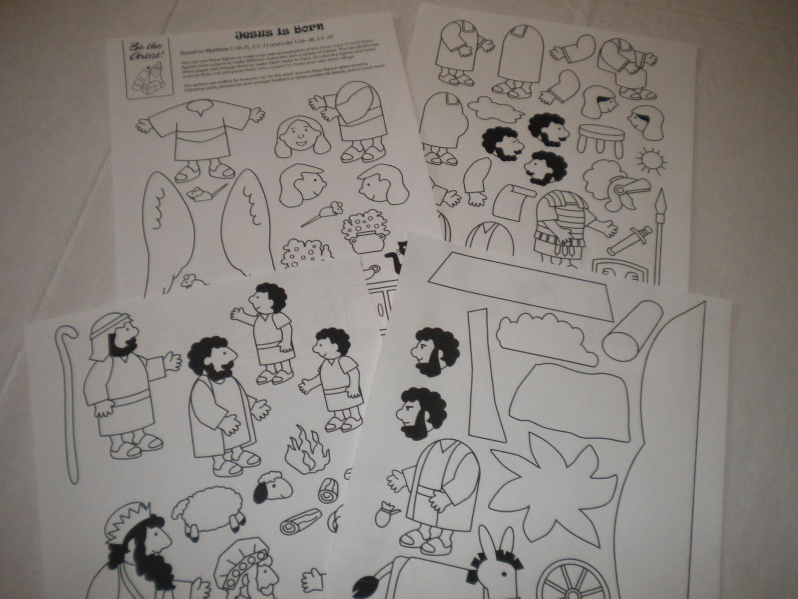 familia catlica material para contar la historia de la navidad a nios pequeos