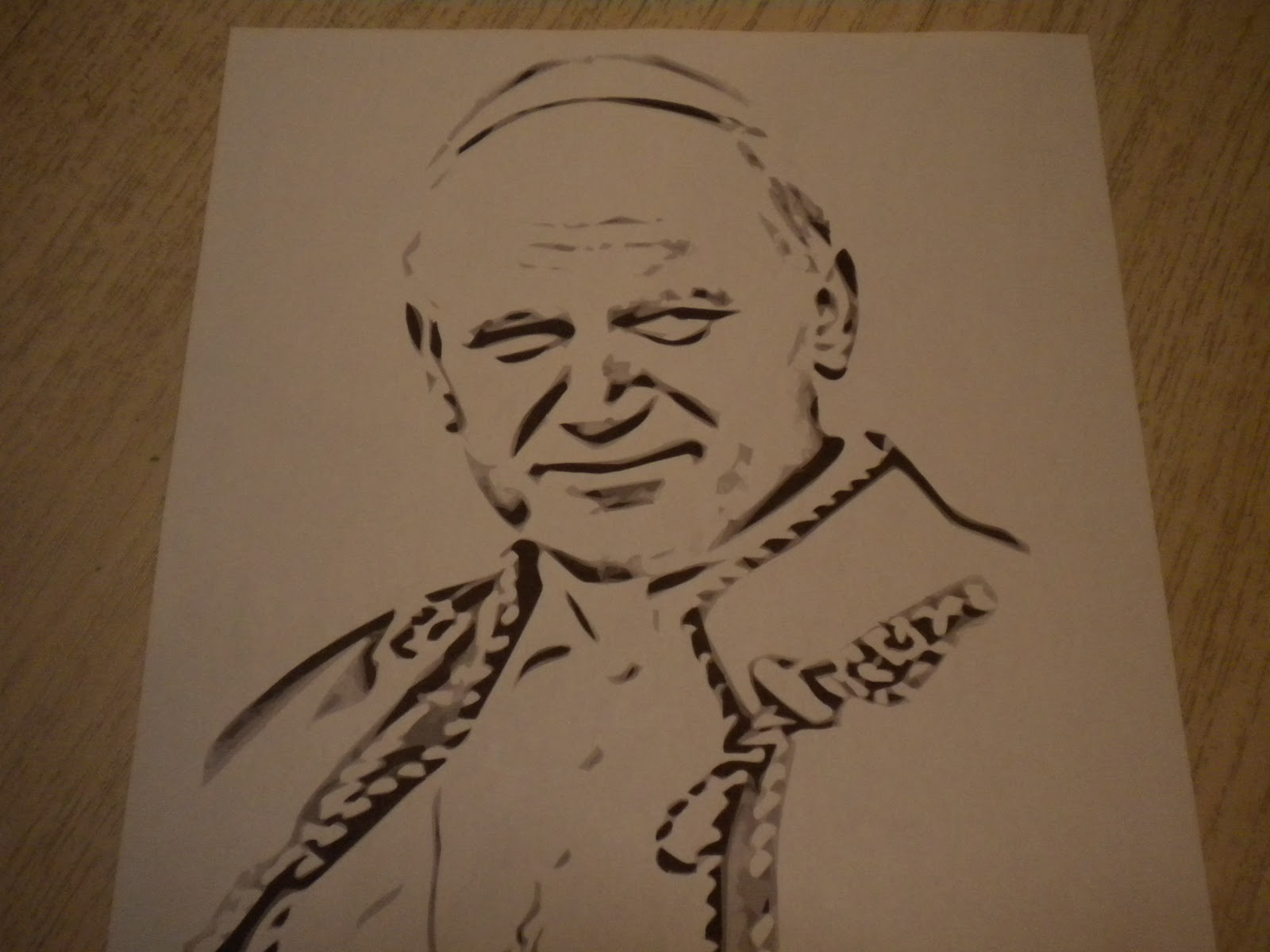 Familia Católica: Páginas para Colorear de Juan Pablo II
