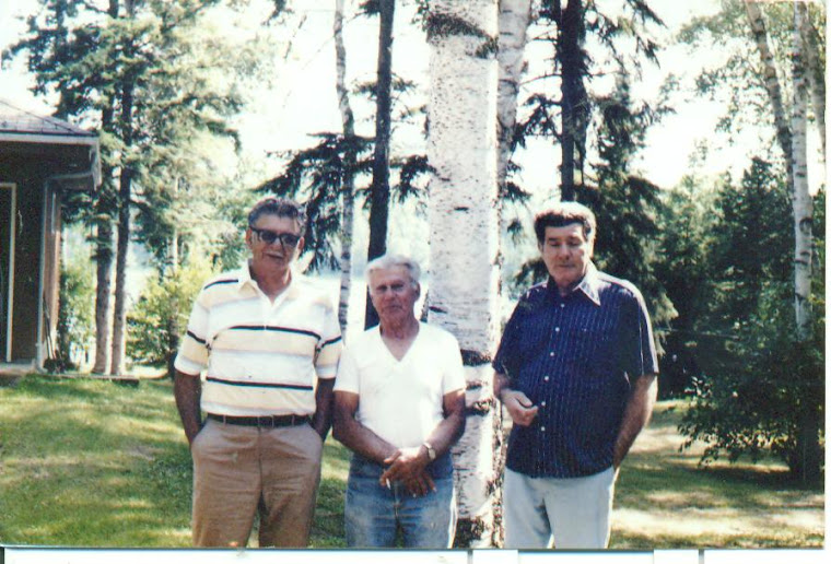 My dad's brothers. I called around to Micheletti's to tell them who I am, what happened to my mom a