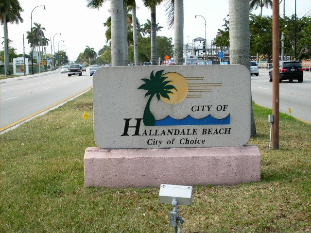 Hallandale Beach. Actually, it's a city of gross incompetency, red-tape & myopia