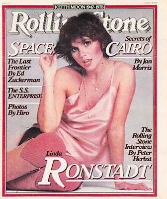 My favorite Rolling Stone cover ever, Linda Ronstadt: Rock \