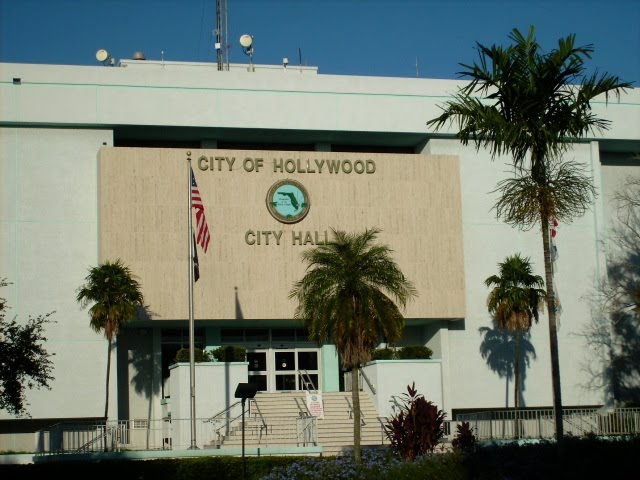 City of Hollywood City Hall, 2600 Hollywood Blvd., Hollywood, FL