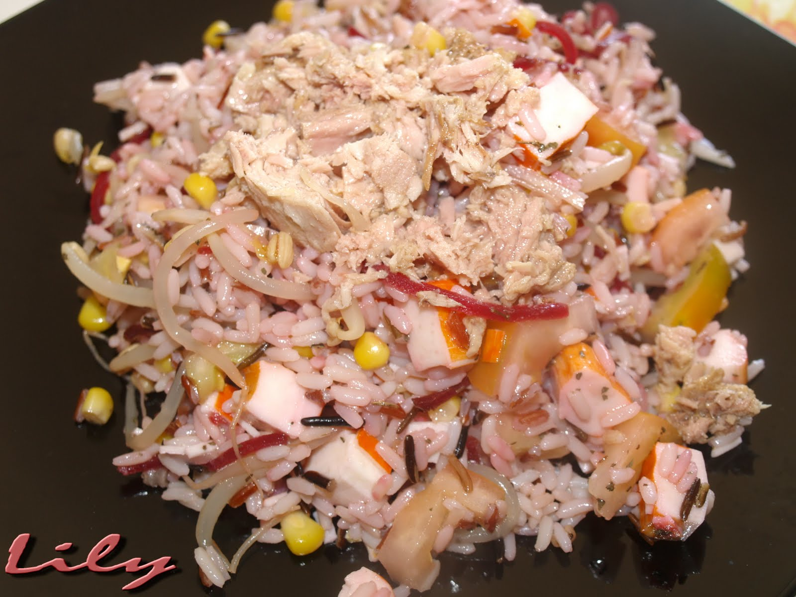 Delici s mos ensalada de arroz - Ensalada de arroz light ...