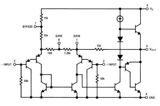 Circuito Operacional : Amplificador operacional lm