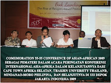 SEDANG MEMAPARKAN MATERI DALAM PERINGATAN KONFERENSI ASIA AFRIKA 55 DI THAILAND