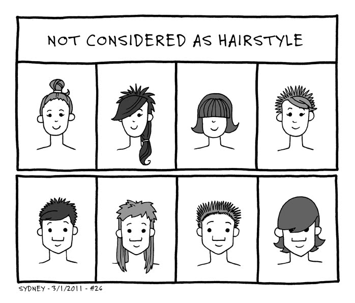 Honestley people There are some hairstyles that should not be considered